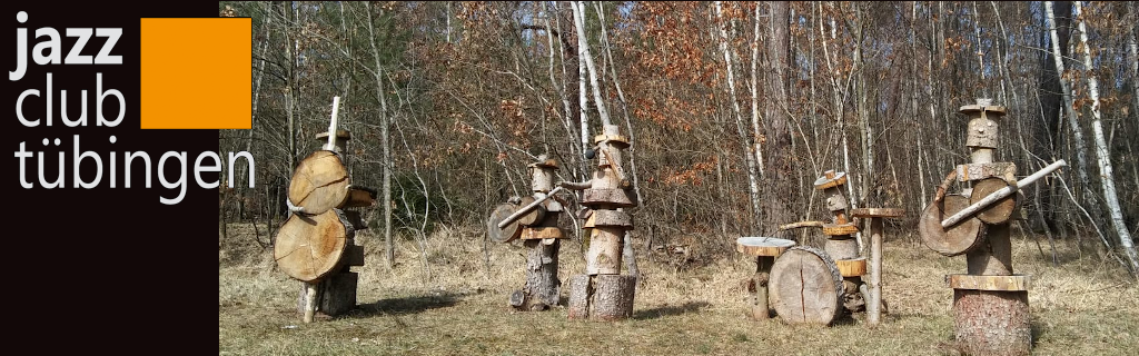 Holzfiguren Band